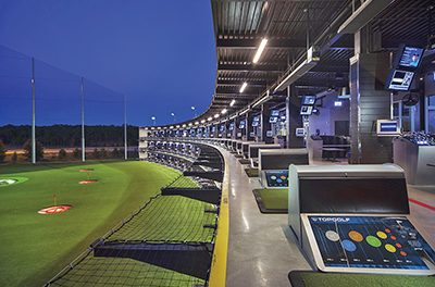 Experience indoor golf as a novel way to beat summer heat