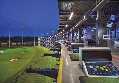 Experience indoor golf as a novel way to beat summer heat