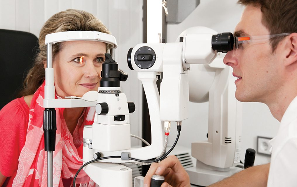 Address low-vision issues with visual aids, technology