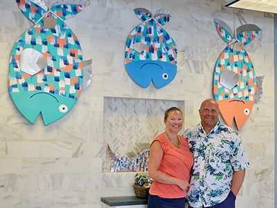 New gallery in Bluffton  features whimsical 'happy fish'