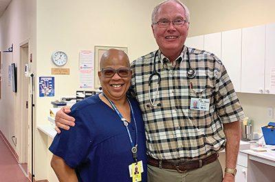 VIM patient turned volunteer turned staffer grateful for care