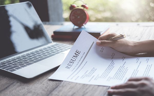 Successful job search begins with good, well-written resume
