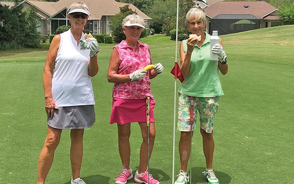 Keep up with nutrition, hydration to enjoy better golf