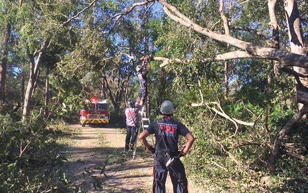 Town earns national hurricane preparedness award