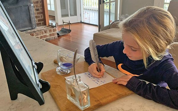 'Secret code' of cursive still taught, if not easily retained