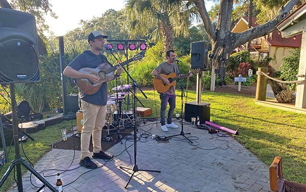Live entertainment comes back to island stages