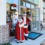 Ho, ho, hold on! Santa will still see kids – from a distance