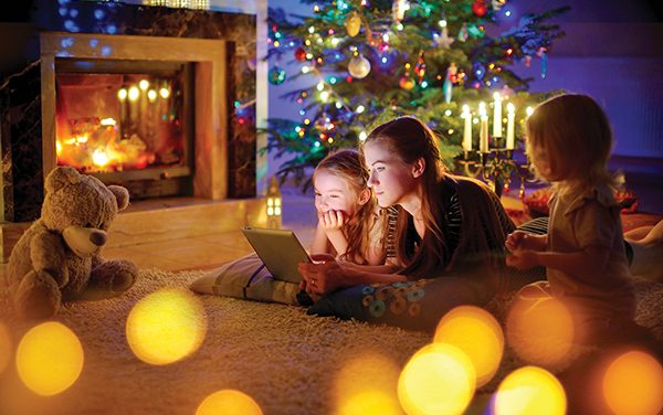 Enjoy beloved holiday traditions with tech twist